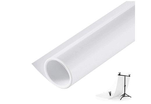 White Backdrop Sweep